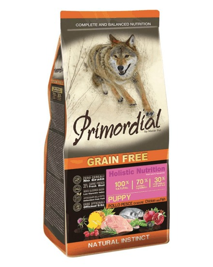 Primordial GF Puppy Chicken and Seafish 12 kg