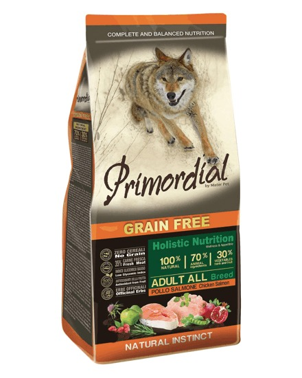 Primordial GF Adult Chicken and Salmon 12 kg