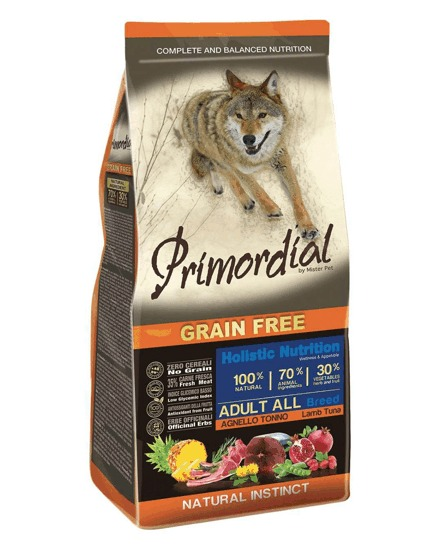 Primordial GF Adult Tuna and Lamb 12 kg