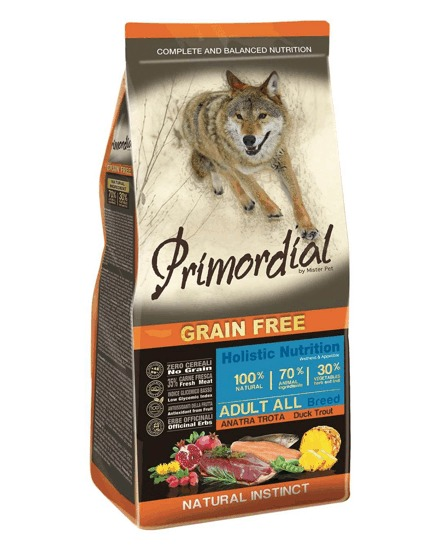 Primordial GF Adult Trout and Duck 12kg