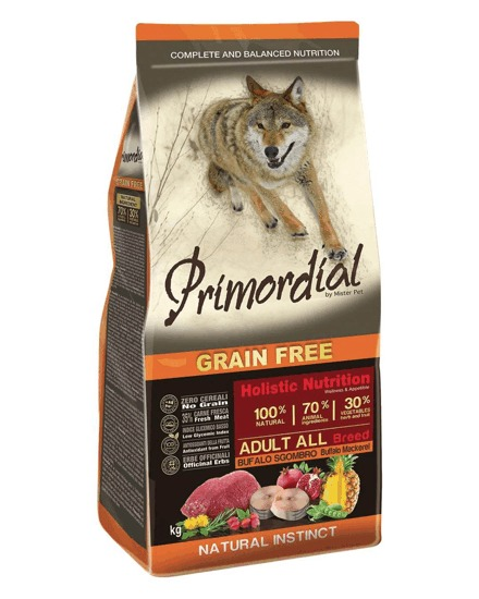 Primordial GF Adult Buffalo and Mackerele 12kg