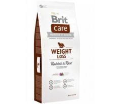 BRIT Care Dog Weight Loss Rabbit Rice 3kg