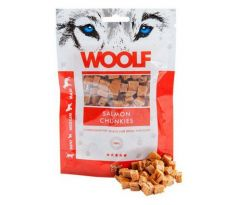 Woolf Dog Soft Salmon Chunkies 100 g