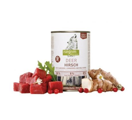 ISEGRIM Adult Forest Jeleň 400 g