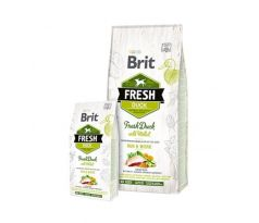 BRIT Fresh Active Run Work kačka a proso 12 kg
