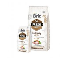 BRIT Fresh Light Fit Slim morka a hrášok 12kg