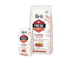 BRIT Fresh Puppy Large hovädzie a tekvica 12 kg
