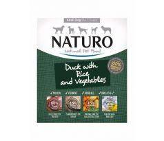 Naturo Adult Duck Rice Vegetables 400g