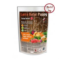 Larra Nature Puppy Large Breed 28/18  2x12 kg