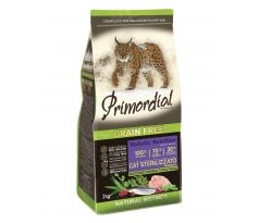 Primordial CAT Sterilizzato Turkey Herring 2 kg