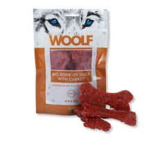 Woolf Dog Duck Bone Big & Carrot 100 g