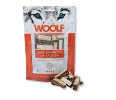 Woolf Dog Salmon Soft Sandwich 100 g
